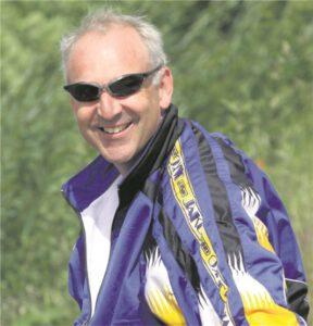 Unermüdlich im Einsatz für den Waltroper Ruderverein: Trainer Andreas Erdtmann