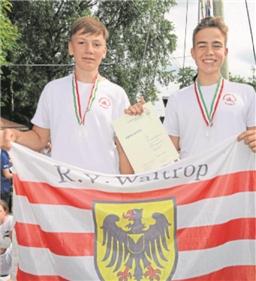Hannes Polarczyk (li.) und Ben Dressler